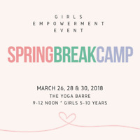 GIRLS EMPOWERMENT SPRING BREAK CAMP