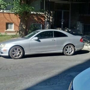 2003 Mercedes Benz CLK500 needs some work.
