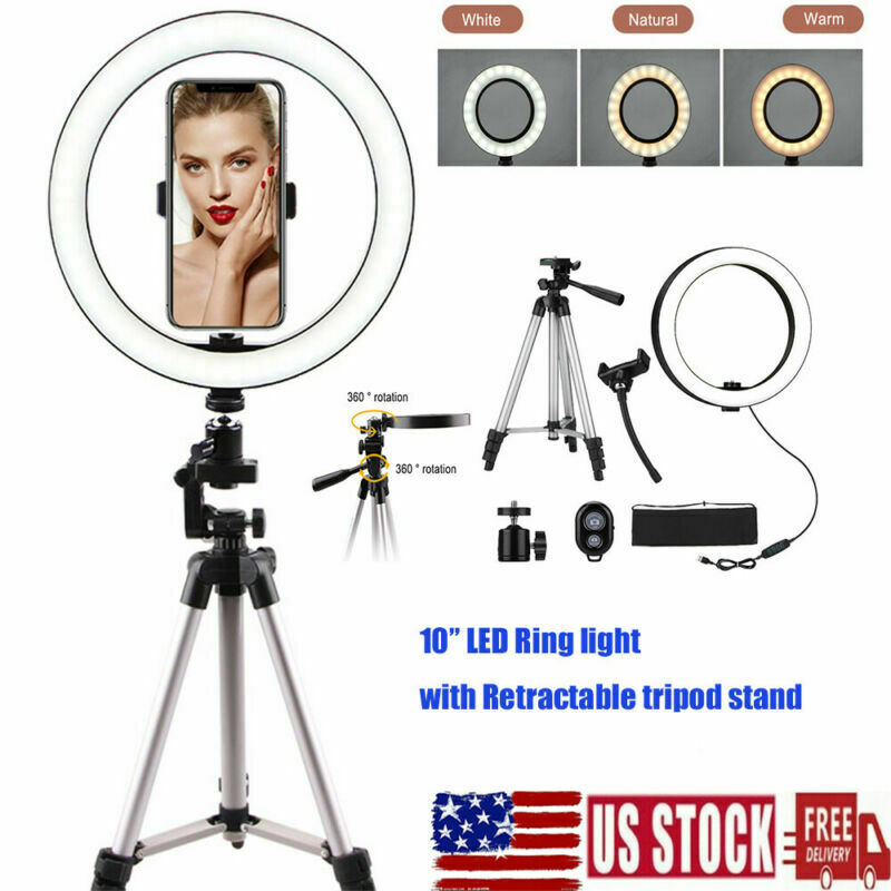 LED Ring Light with Tripod Stand 10