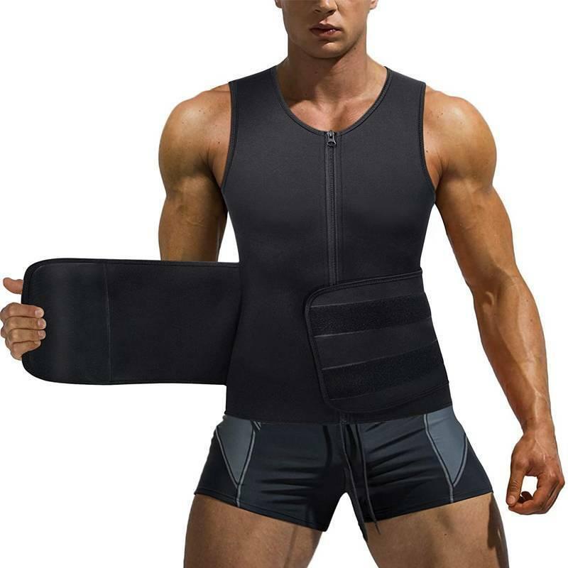 Men Compression Sauna Vest Trainer Shaper