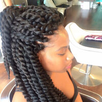 tissages (waves),crochets braids,twist,nattes,tikouri,cornrows