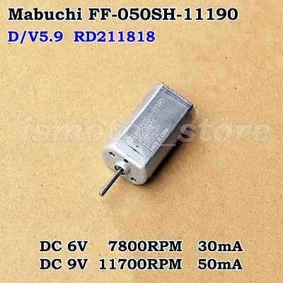 Mabuchi Ff-050sh-11190 Dc 5.9v 9v 11700rpm High Speed Micro Motor For Diy Parts
