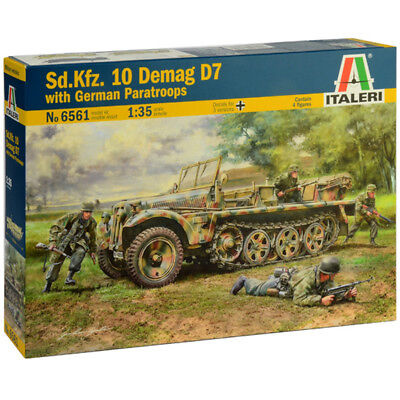 Italeri Sd.Kfz. 10 Demag D7 Half-Track Model Kit (Scale 1:35) - 6561 - NEW for sale  Shipping to Ireland