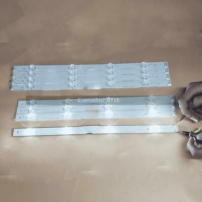 "KIT 8pcs LED strip with 8 LED Light  For LG 42"" TV  42LB580 42LB570 42LF5600 US"