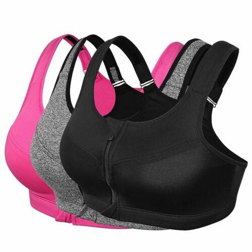 3er Set Bustier Damen Unterwäsche Sport Komfort BH Fitness Yoga Jogging Bra DHL
