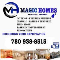 MAGIC HOMES PAINTING & DRYWALL