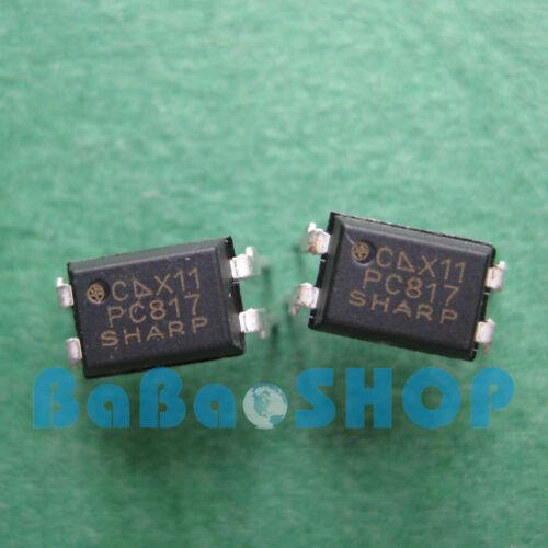 50pcs ~ 1000pcs New PC817 PC817C EL817 817 Optocoupler SHARP DIP-4