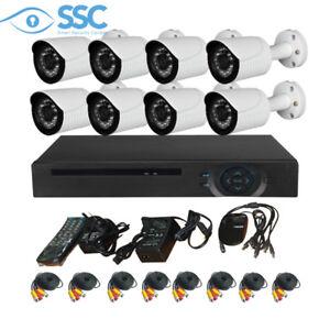 SYSTÈME DE CAMÉRAS DE SURVEILLANCE ***HD*** 8 CAM CCTV 5IN1