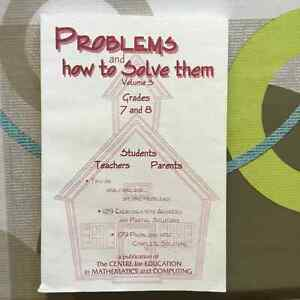 Canadian Mathematics Competition Problems Books London Ontario image 3