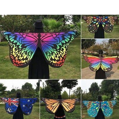 Damen Wickelschal Bedecken Schöner Schmetterling Flügel Handtuch Kostüm - Schöne Schmetterling Kostüm