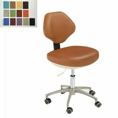 Dental Mobile Chair Dentists Chair Doctors Stool Microfiber Leather Hs-3