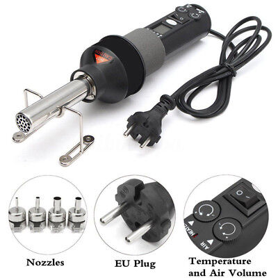 450w 220v Lcd Display Electronic Hot Air Heat Gun Soldering Station Nozzle Set
