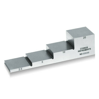 Yushi 1018 Steel Calibration Block For Ultrasonic Thickness Gauge 2.551020mm