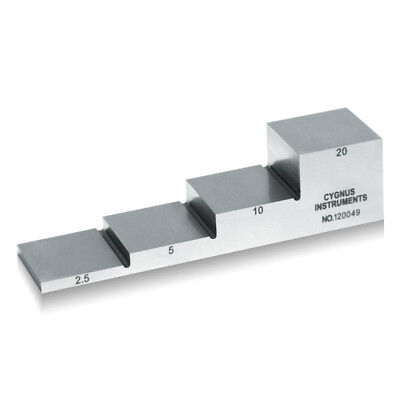 Yushi 1018 Steel Calibration Block For Ultrasonic Thickness Gauge 2.5 5 10 20mm