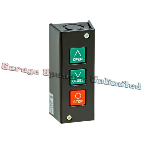 MMTC PBS-3 NEMA 1 Three Button Interior Surface Mount Control Station Contact