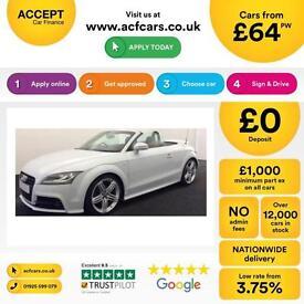 Audi TT S Line FROM £64 PER WEEK