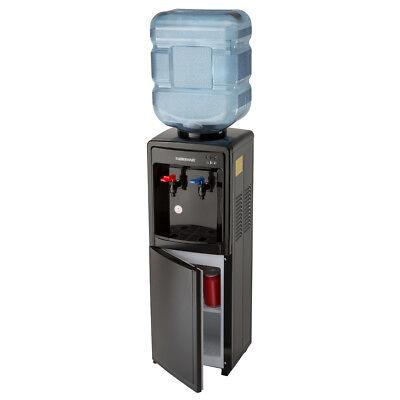 Farberware Fw29919 Freestanding Hot And Cold Water Cooler Dispenser  Black