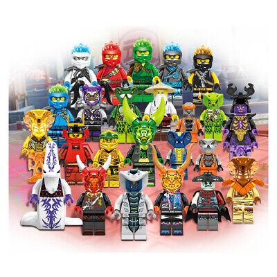 Ninjago Lot Custom Season 11 Set 24 Minifigures For Lego  - USA SELLER