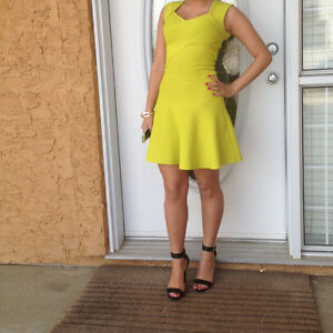 Marciano Lime Green Dress