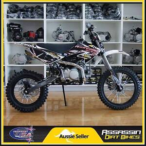 Assassin A9 BIG WHEEL 140cc YX 14'' 17'' Dirt Bike Pit Mini Bike Caringbah Sutherland Area Preview