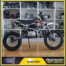 Assassin A9 BIG WHEEL 140cc YX 14'' 17'' Dirt Bike Pit Mini Bike Caringbah Sutherland Area Preview