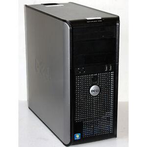 Dell OptiPlex 580 Desktop PC AMD 2.80GHz 4GB RAM 160GB Windows 7