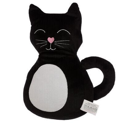 Puckator Gato Puerta Pare, Negro Hogar Decorativo Lindo Tapón Soporte Novedad