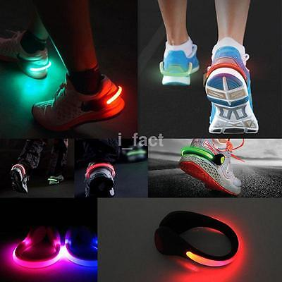 LED Luminous Sports Shoe Lights for Safe Night Running Walking Cycling - Led Shoe Lights
