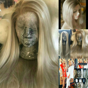 Brand New Beautiful Ash Blonde Lace Front Wig.  Bob style or Long New Farm Brisbane North East Preview