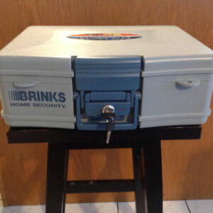 Brinks Home Security Safe with Two Keys