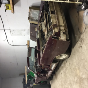 1961 Lincoln continental rag top subside doors