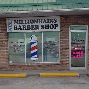 A Millionhairs Barber Shop and Salon