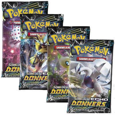 Pokemon Karten: Echo des Donners Booster - Deutsch - OVP