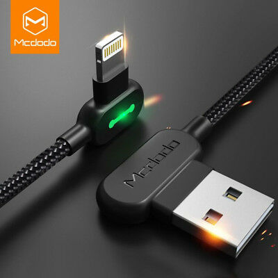 MCDODO USB Cable for iPhone X 6 6s 7 8 2.4A Lightning to USB Cable Fast Charger