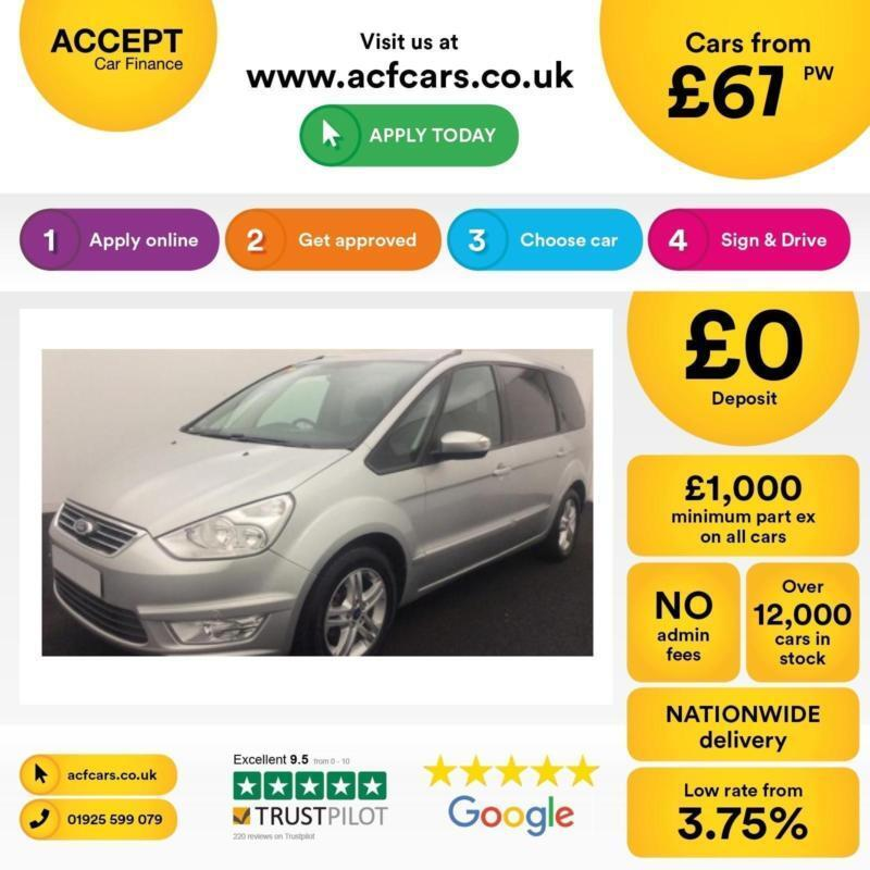 Ford Galaxy FROM £67 PER WEEK!