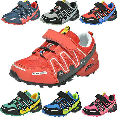 New Kids Boys Girls Spring Autumn Sports Running Shoe Casual Breathable Sneaker