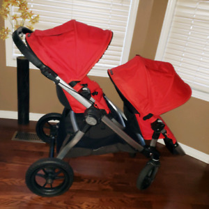 City select double stroller, mint condition