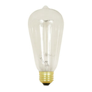 6 pack LED vintage retro Edison bulbs. Dimmable!!! Pure white