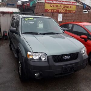 06 ford escape only 124km safety+3 month warranty*inc.