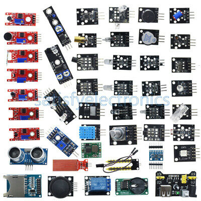 45 In 137 In 1 Sensor Module Starter Kit Set For Raspberry Pi Education Arduino