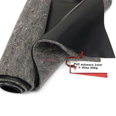 SIKA Premium PVC Teichfolie 1mm schwarz + Teichvlies V300 viele Größen wählbar