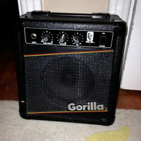 Gorilla GG-20 Guitar Amplifier! 30 WATTS!