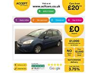 Citroen Grand C4 Picasso 1.6HDi 16v VTR+ FROM £20 PER WEEK!