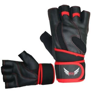 New Heavy Duty  Genuine Leather Weightlifting gloves $20.00