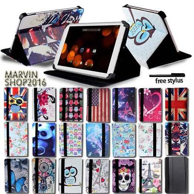Memo Case - For Various Asus MEMO Pad Tablet - FOLIO LEATHER STAND CASE COVER + Stylus