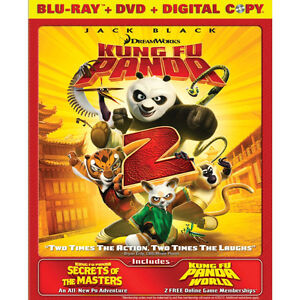 Kung Fu Panda 2 Blu-ray - 2 disc Combo Packs (Blu-ray + DVD) $5.