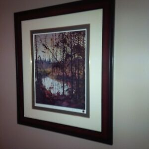 Northern River Numbered print by Tom Thomson