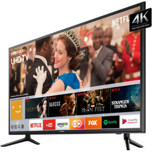 "NO TAX SALE-samsung-58"" led tv ultra hd-4k -smart-inbox-$769.99"