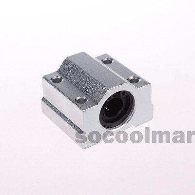4pcs Linear Ball Bearing Scs16uu Pillow Block Linear Slides Unit For Cnc 16mm
