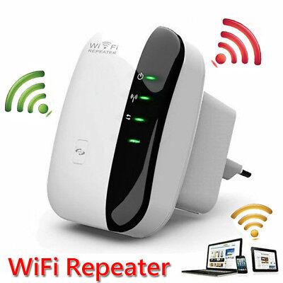 EU WIFI Repeater Mini Router AP 2,4GHz WLAN 802.11n Verstärker Extender 300 Mbit